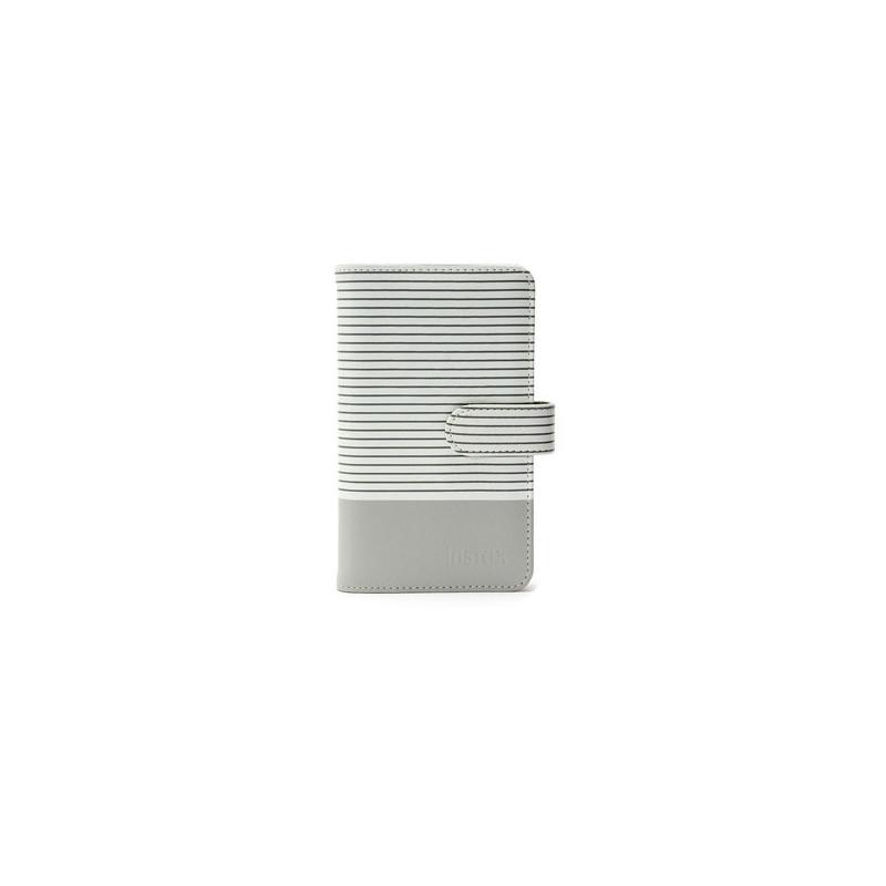 Fujifilm Instax Mini album fotografico e portalistino Grigio, Bianco 108 fogli