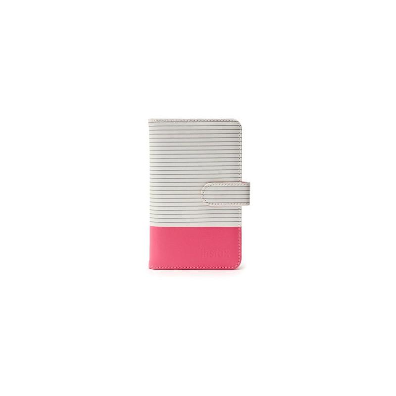 Fujifilm Instax Mini album fotografico e portalistino Grigio, Rosa, Bianco 108 fogli