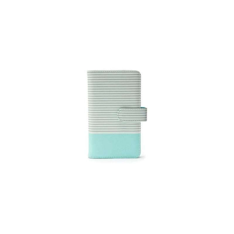 Fujifilm Instax Mini album fotografico e portalistino Blu, Grigio, Bianco 108 fogli