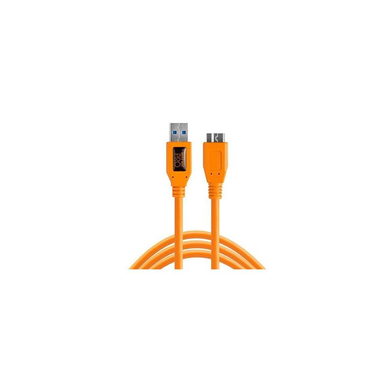 Tether Tools TetherPro USB 3.0 A/Micro B 4,6m orange