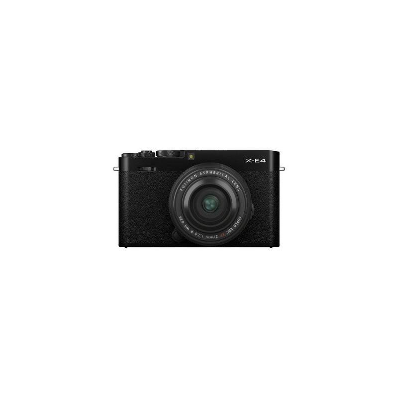 Fujifilm X-E4 Nero + XF 27mm f/2.8 R WR