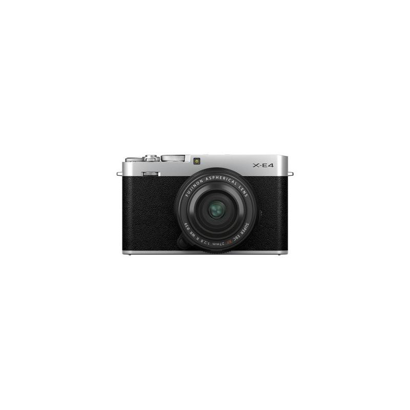 Fujifilm X-E4 Silver + XF 27mm f/2.8 R WR