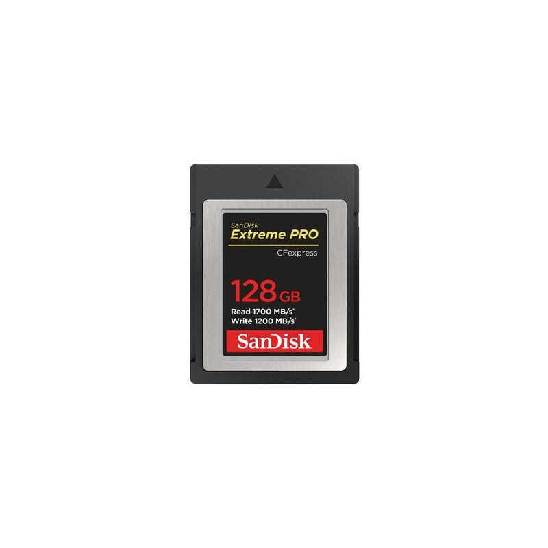 SanDisk ExtremePro 128 GB CFexpress