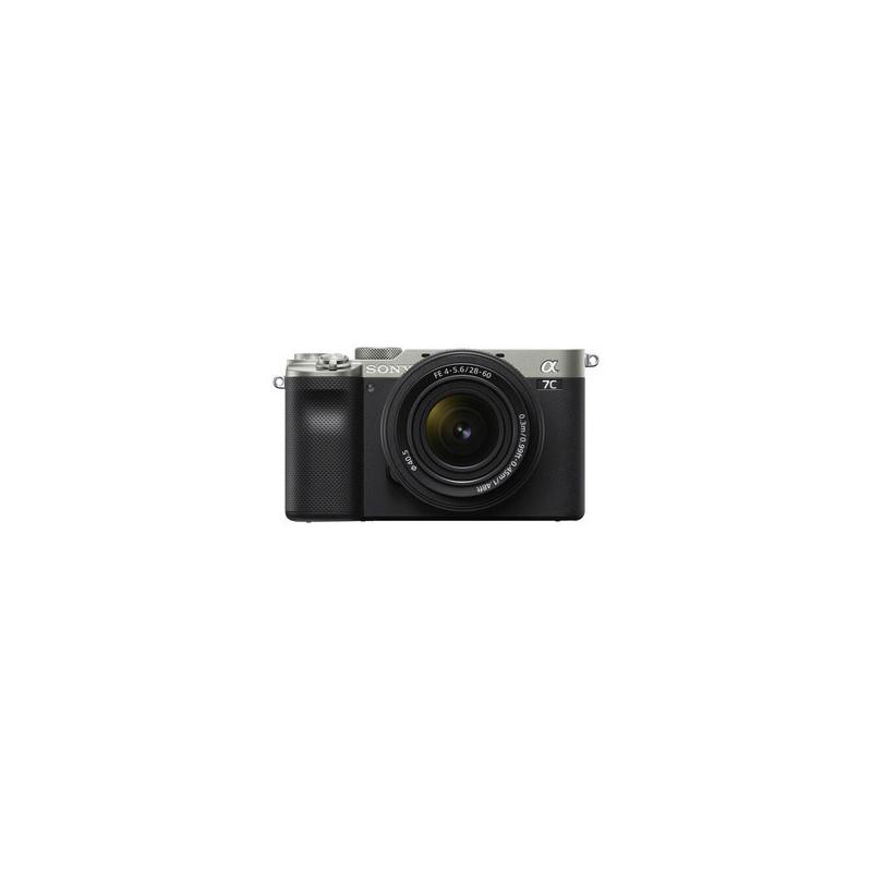 Sony Alpha 7 C Silver + FE 28-60mm f/4-5.6+Batt.Sony NP-FZ100