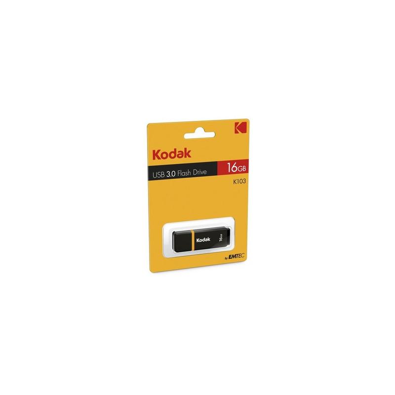 Kodak K103 16GB 3.0 (3.1 Gen 1) Nero