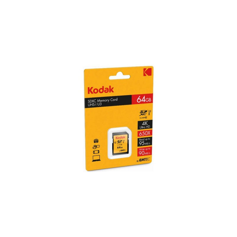 Kodak 64GB SDXC UHS-I Classe 10