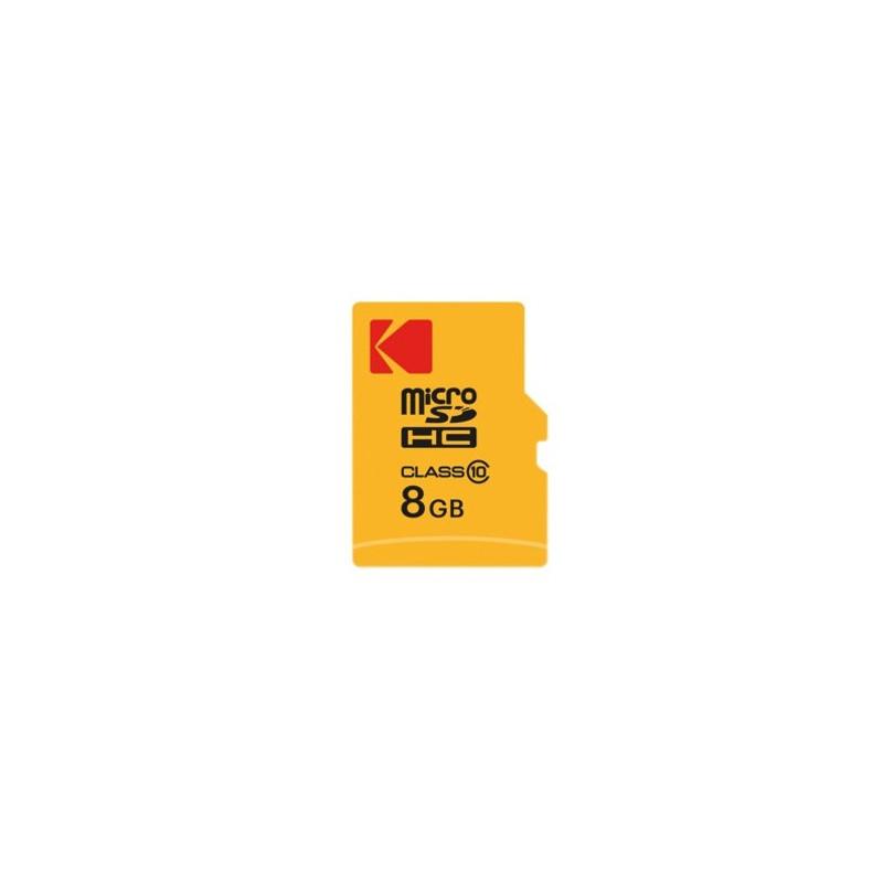 Kodak 8GB MICRO SDHC Classe 10 Extra Performance + Adattatore