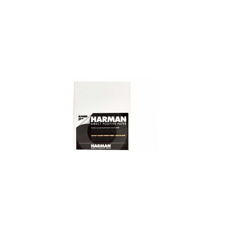 Ilford Harman Direct Positive Paper 8X10'' 25F