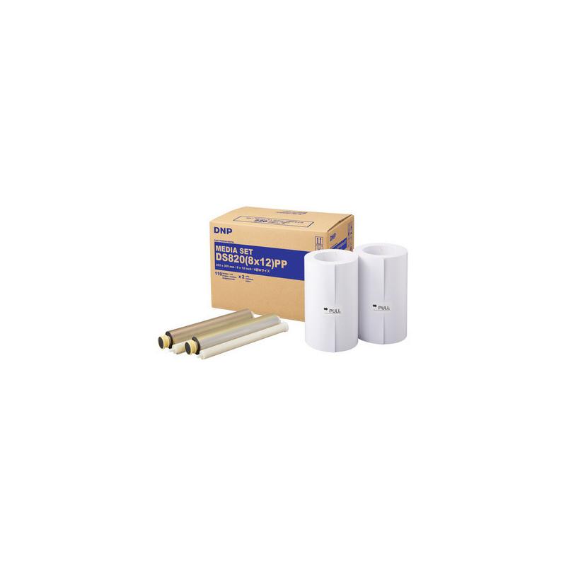 DNP Bobina + Ribbon per DS820 20X30/220 Pure Premium