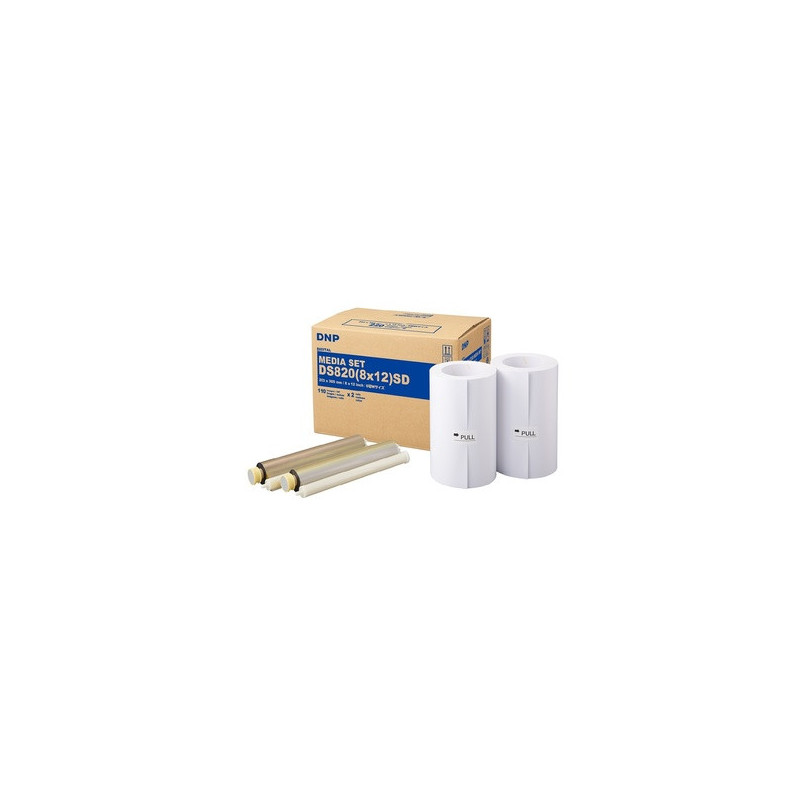 DNP Bobina + Ribbon per DS820 20x30 220 stampe Standard Digital