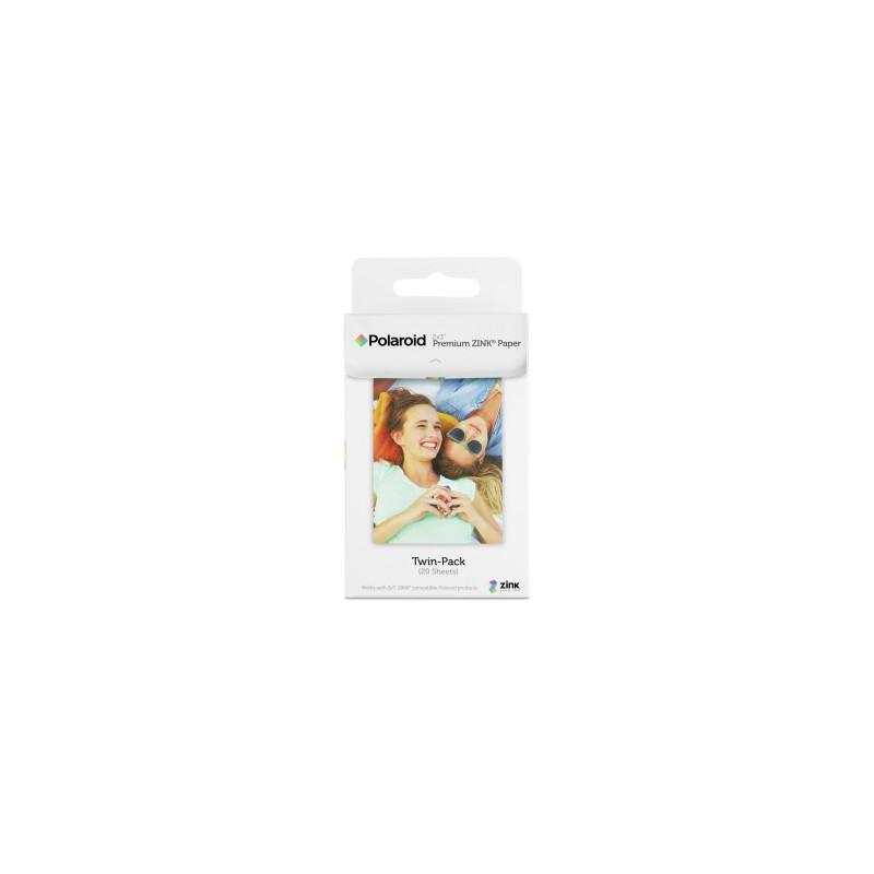Polaroid Zink 2x3'' - 20pz per Snap Touch