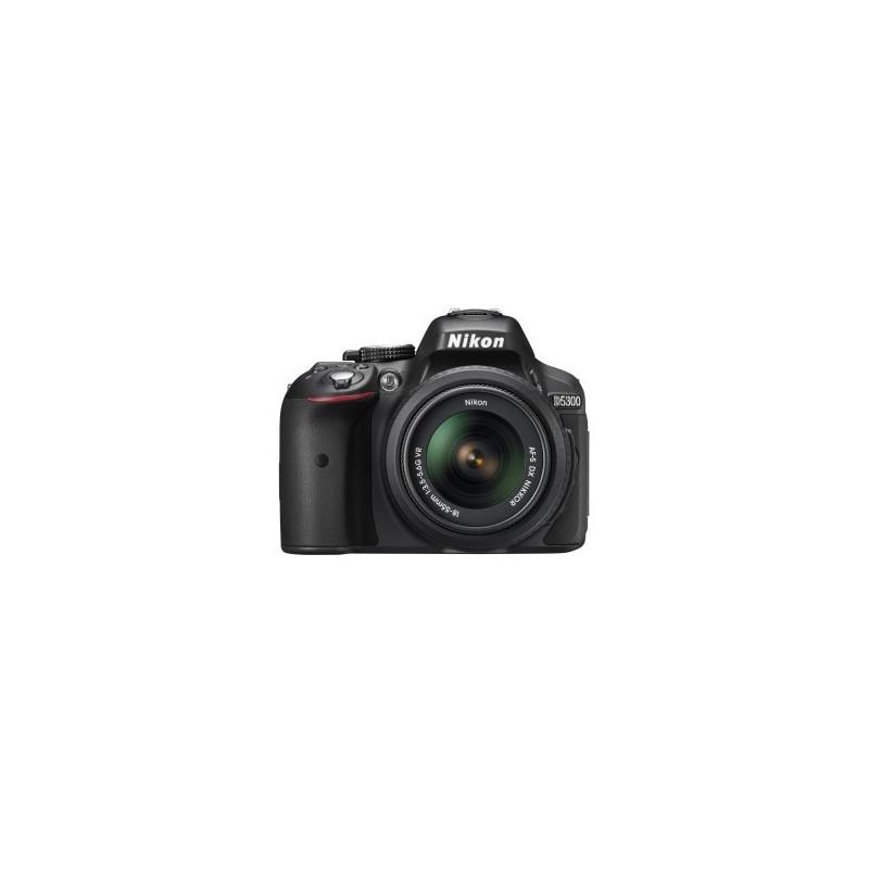 Nikon D5300 + AF-P 18-55mm f/3.5-5.6 G DX VR + SD 16GB Lexar Premium 300x