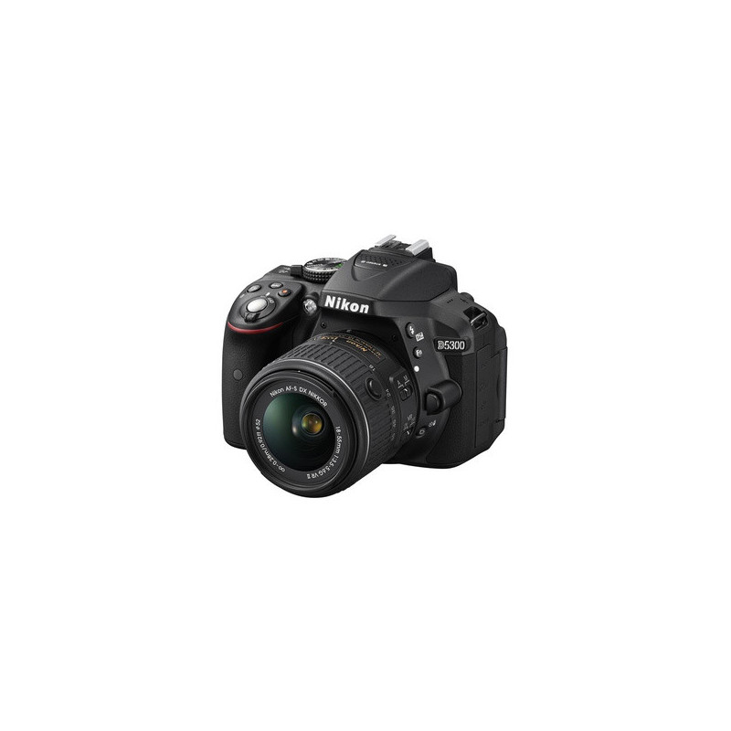 Nikon D5300 + AF-P 18-55mm + AF-P 70-300mm + SD 16GB