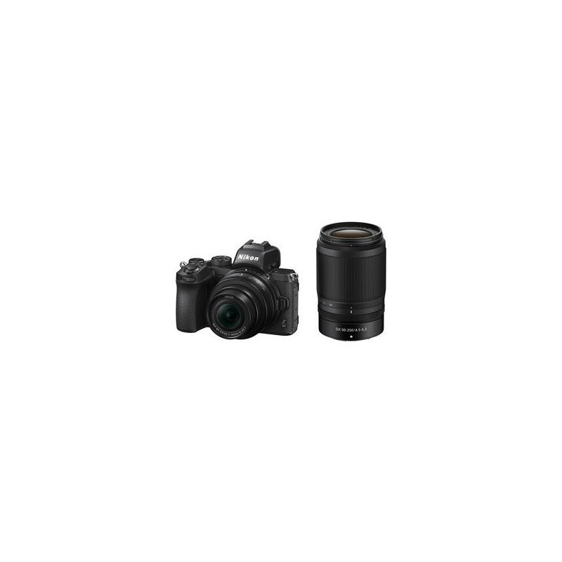 Nikon Z50 + 16-50mm f/3.5-6.3 VR + 50-250mm f/4.5-6.3 VR + SD 64GB 667x Pro Lexar