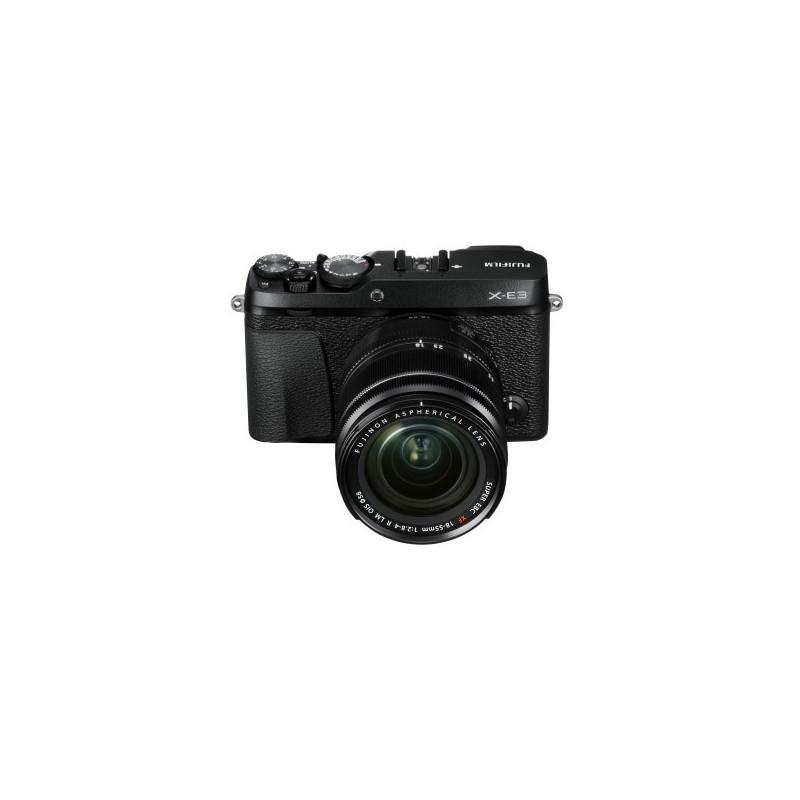 Fujifilm X-E3 Nero + XF 18-55mm f/2.8-4 R LM OIS Fujinon