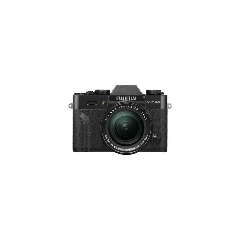 Fujifilm X-T30 Nero + XF 18-55mm f/2.8-4 R LM OIS Fujinon Nero