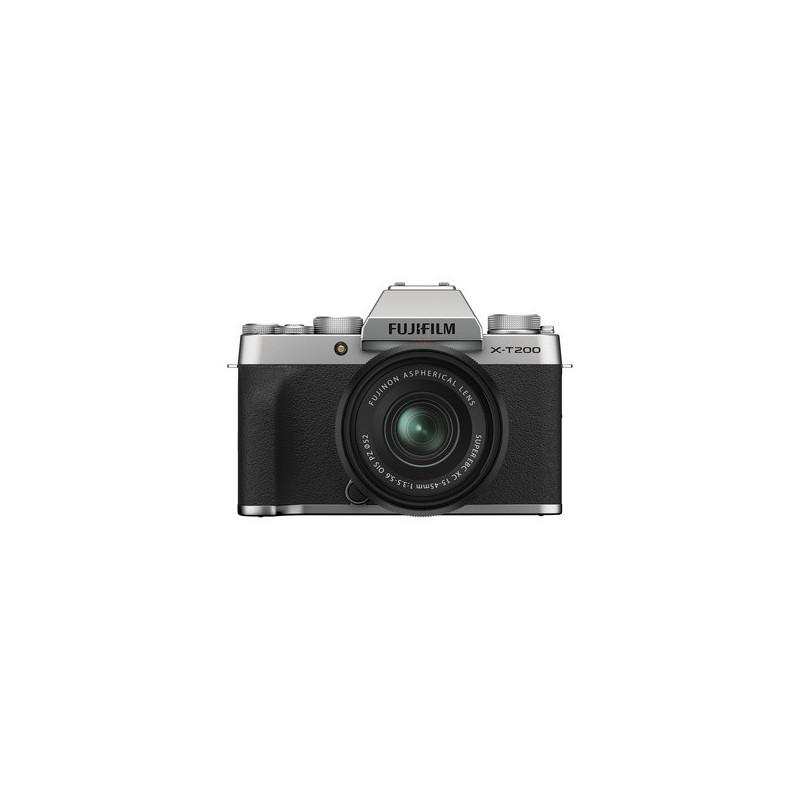 Fujifilm X-T200 Silver + XC 15-45mm f/3.5-5.6 OIS PZ