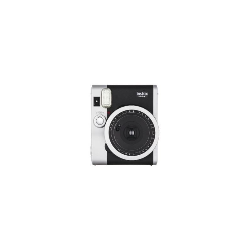 Fujifilm Instax Mini 90 Nera + 10 Pellicole + Custodia in pelle