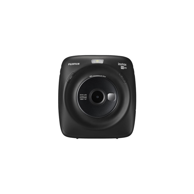Fujifilm Instax Square SQ20 Nera - Fotocamera Istantanea
