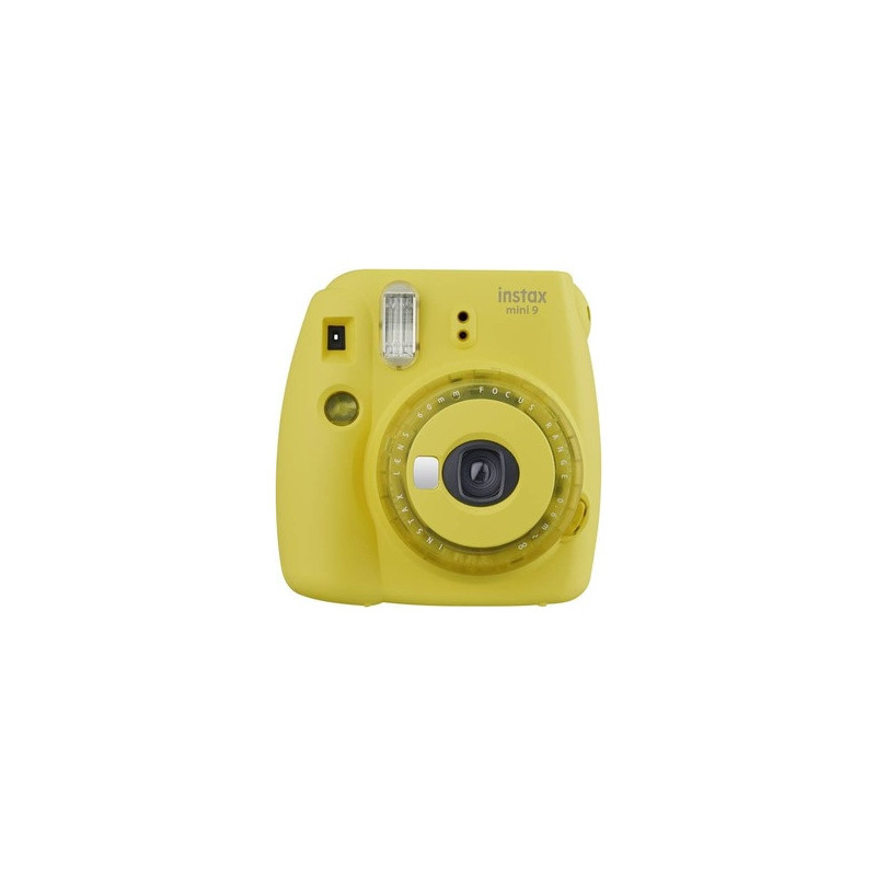 Fujifilm Instax Mini 9 Clear Yellow - Fotocamera Istantanea