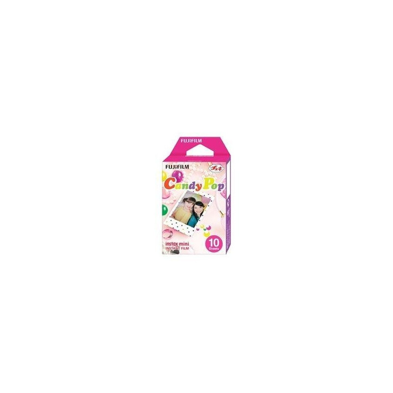 Fujifilm 10 pellicole Instax Mini Single Candy POP