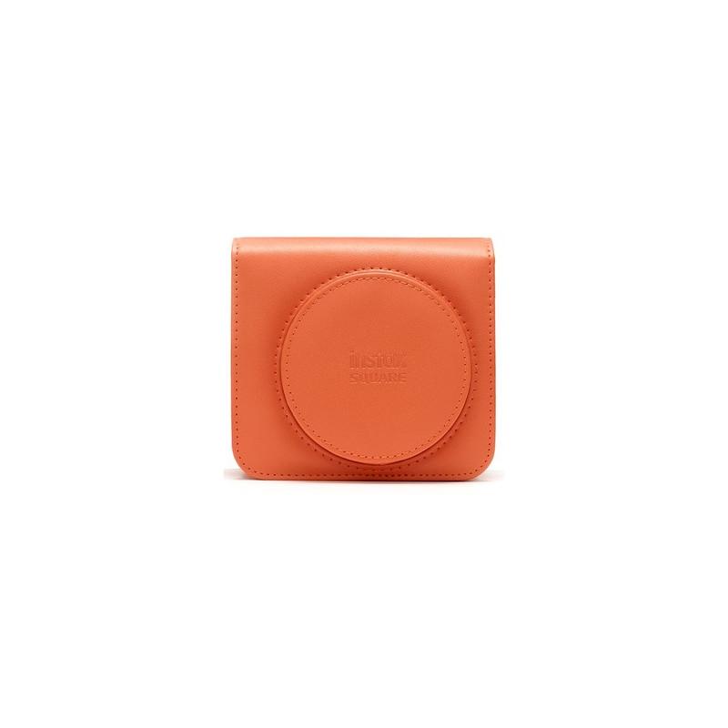 Fujifilm Borsa in Ecopelle per Instax Square SQ1 Terracotta Orange