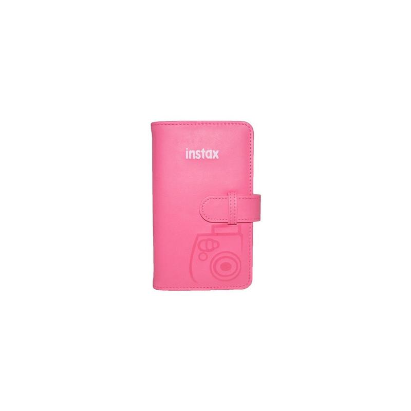 Fujifilm Instax Mini album fotografico e portalistino Rosa