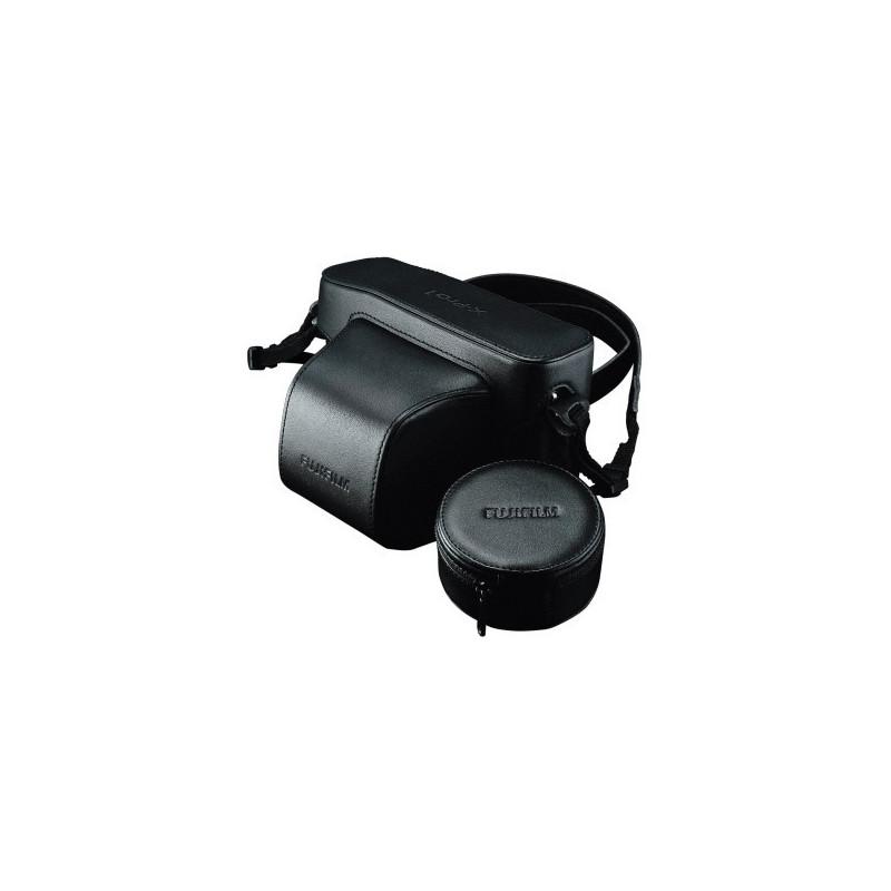 Fujifilm LC-X-Pro1 Custodia in cuoio Nera - black per X-Pro1