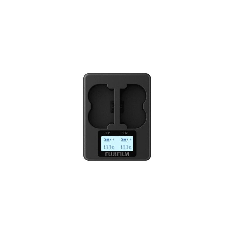 Fujifilm BC-W235 Doppio Caricabatteria per batteria W235