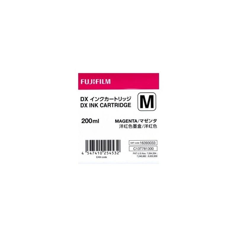 Fujifilm Cartuccia per DX100 Ink 200 ml Magenta