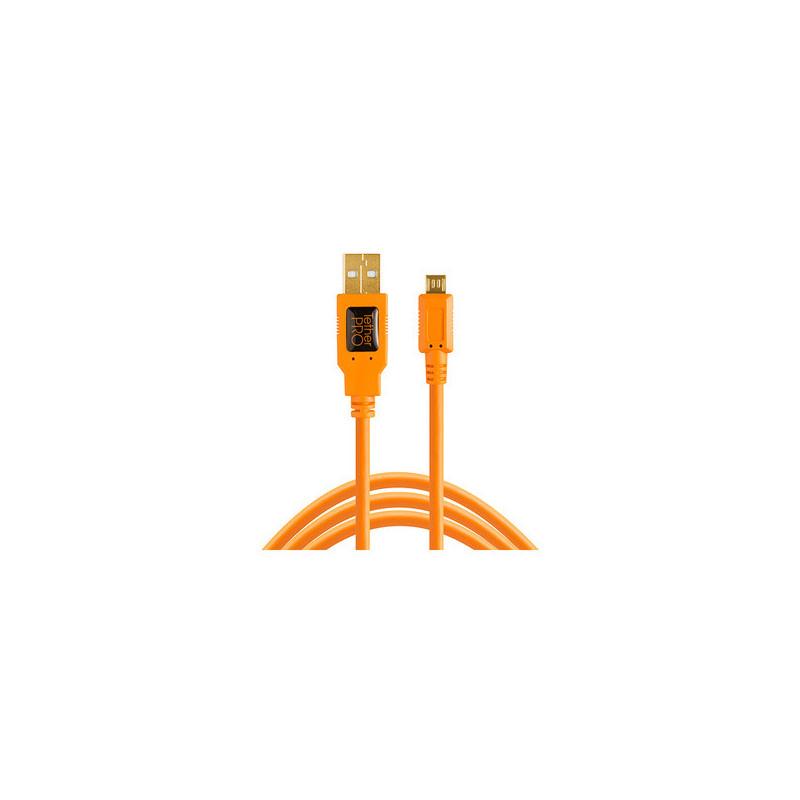 Tether Tools TetherPro USB 2.0 A Micro B 5 Arancione