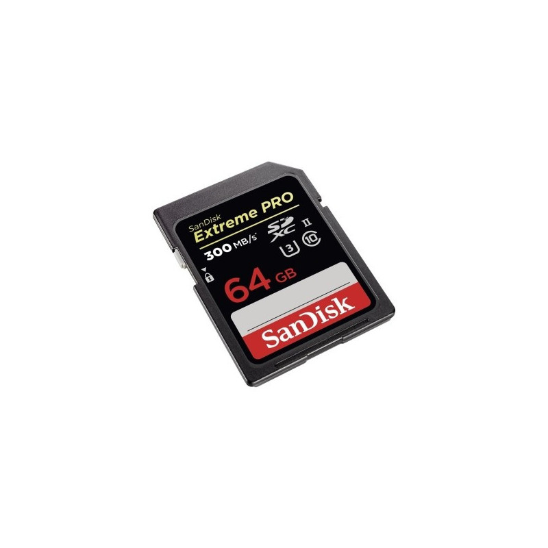 SanDisk 64GB Extreme PRO SDHC 300MB UHS-II SDSDXPK-064G-GN4IN
