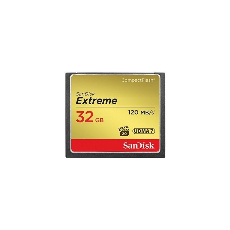 SanDisk 32GB Extreme CF 120MB/s UDMA7