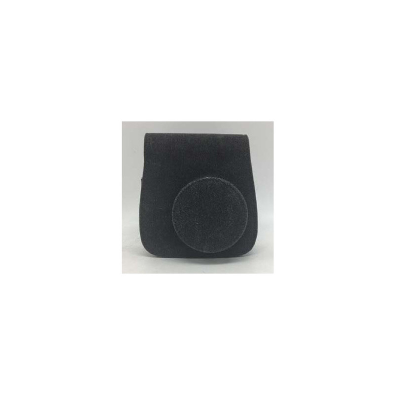 Asaky Borsa Ecopelle per Instax Mini 9 Black Canvas