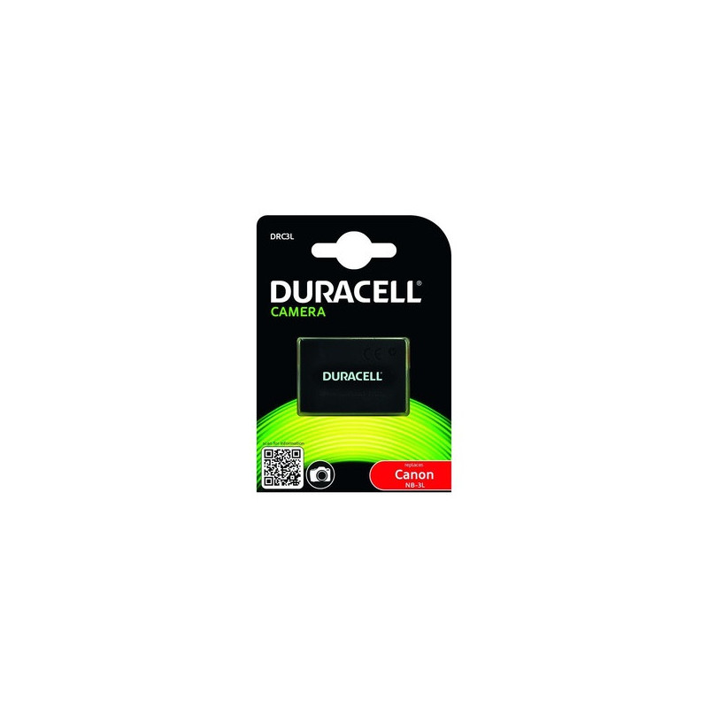 Duracell DRC3L Batteria per fotocamera/videocamera Ioni di Litio 820 mAh