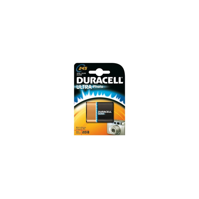 Duracell Ultra Photo 245 Nichel – oxyhydroxide (NiOx)