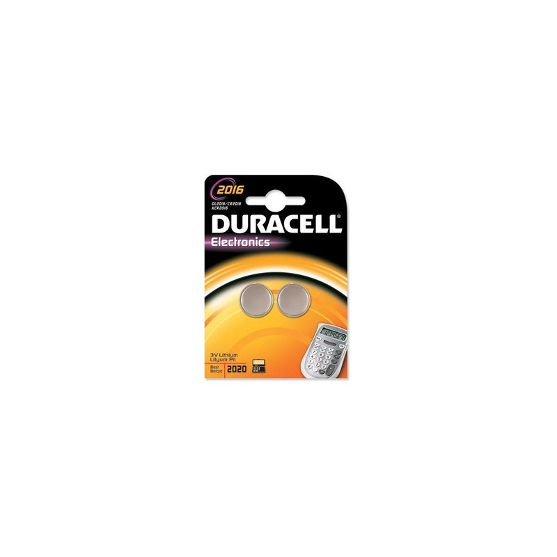Duracell DL2016B2 Batteria monouso Litio