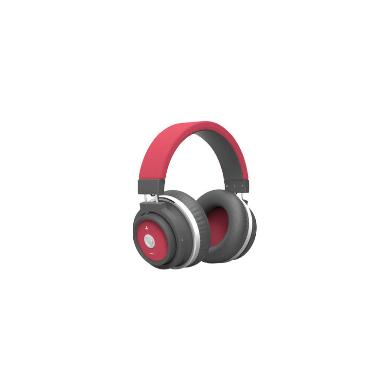 Swiss Go HP001BT cuffia concert Bluetooth Rosso