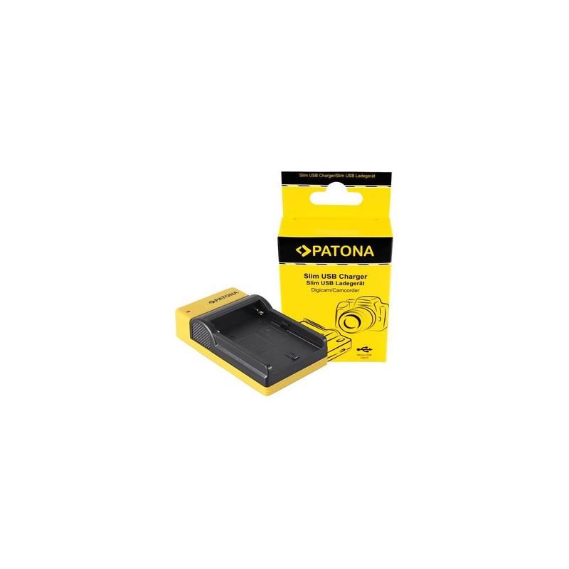 Patona Caricabatterie USB per Sony