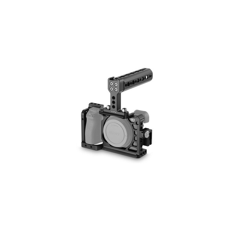 SmallRig Gabbia 1968 per Sony Alpha 6300/6500 + Kit Accessori e impugnatura